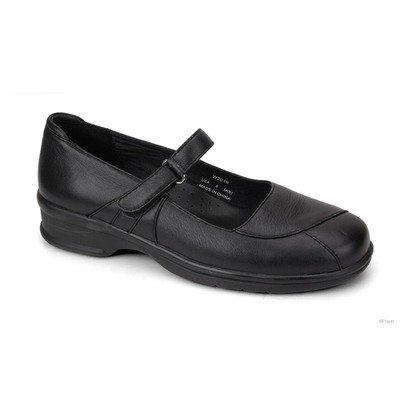 Propet Women's Mary Jo Walker Slides,Black Leather,10 W by Propét (Image #1)