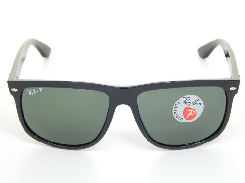 7314d01943c Ray Ban RB4147 601 58 Black Crystal Green Polarized Lens 60mm ...