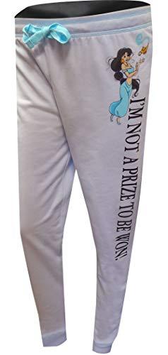 - Disney Women's Princess Jasmine Not A Prize Jogger Lounge Pants (Medium) Purple