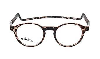 CLIC Reading Glasses, FLEX CBX-FMMN FROST Brown +03.00