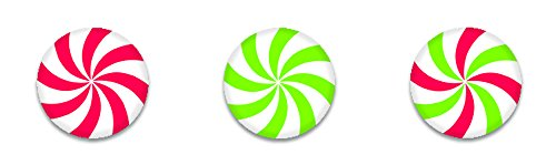 Creative Teaching Press Peppermint Candies Hot Spots Stickers (7138)