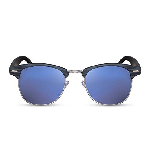 Ca Cheapass Noir 014 Hommes Rétro Sunglasses Miroitant Femmes Clubmaster YRTrFaY