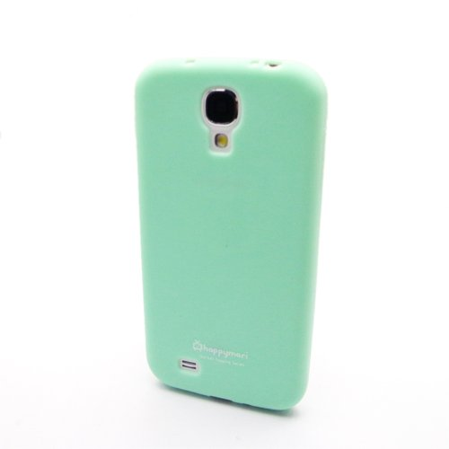 Mint Green Candy Sherbet Soft TPU Silicone Case Cover for Samsung Galaxy S4 i9500 (Mint Sherbet)