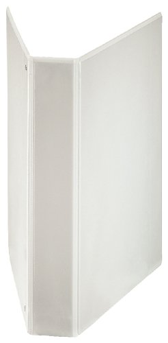 Esselte 40 mm A4+ Extra Wide Presentation 4 D Ring Binder - White ()