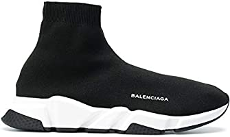 Balenciaga Speed Trainer Sock sneakers shoes BLACK white For Unisex