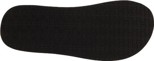 Sanuk Yoga Mat de la mujer flip-flop Blanco