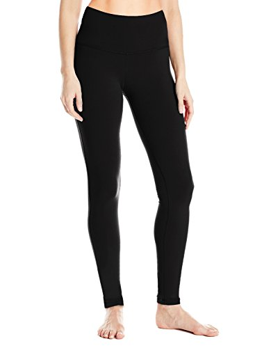 (Yogipace Tall Women's Long Inseam High Waisted Barre Leggings Extra Long Yoga Leggings Workout Active Pants Black Size L)