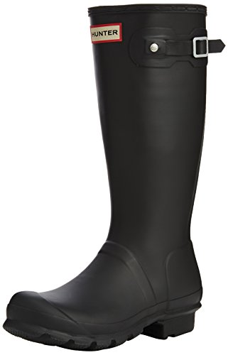 - Hunter Kids Original Black Rain Boot - 4
