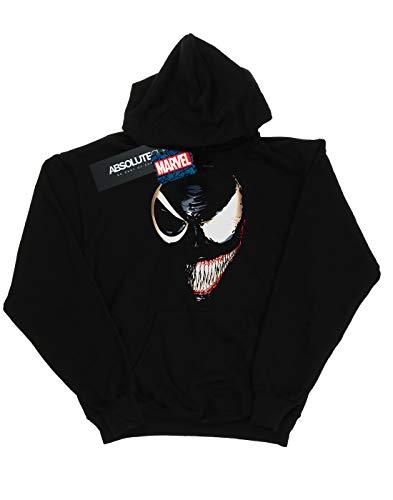 Venom Hoodie Boy Universe Marvel Negro Face Split fBvqwpWRE