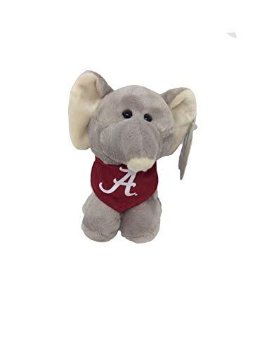 Mascot Factory NCAA Alabama Crimson Tide Short Stacks with Bandana-Cardinal-Elephant (Alabama Mascot)