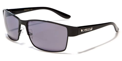 X Loop Mens / Womens / Unisex Athletic Sport Designer Fashion Sunglasses with UV400 Lens - Available in Black / Silver / Gunmetal - Includes Custom Branded Microfiber Pouch & - Designer Replica Glasses
