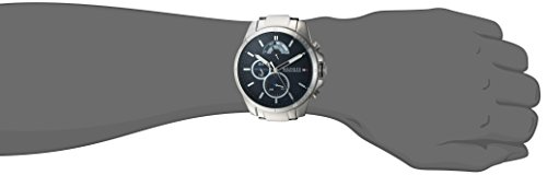 Tommy Hilfiger Men's 'COOL SPORT' Quartz Stainless Steel Casual Watch, Color Silver-Toned (Model: 1791348)