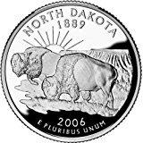 2006 D North Dakota Quarter - Quarter Coin Dakota State