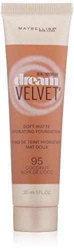 Maybelline New York Dream Velvet Foundation, Coconut, 1 Fluid Ounce ,(Pack of 4)