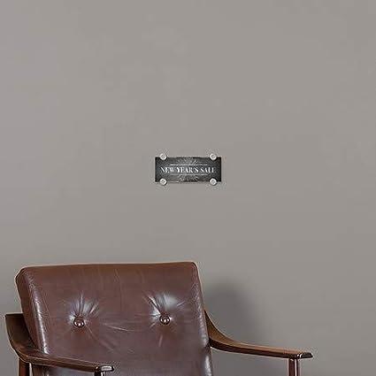 8x3 Chalk Burst Premium Acrylic Sign CGSignLab New Years Sale 5-Pack