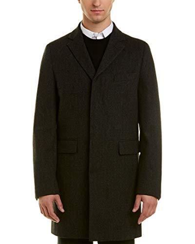 Brooks Brothers Wool Coat - Brooks Brothers Mens Wool Dress Coat, 42R, Grey