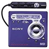 Sony MZ-R700 Blue Personal Minidisc Player/Recorder