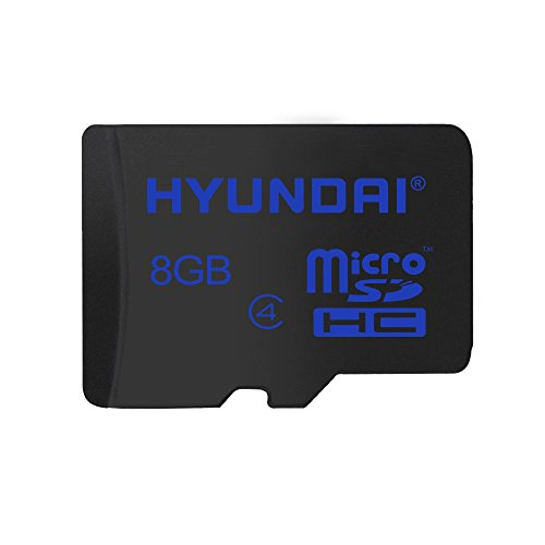 Hyundai 8GB Class 10 Micro SDHC Card with Adapter up to 2...