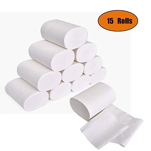 Ultra Gentle Care toiletpapier, 4-laags standaard rollen toiletpapier, zacht, huidvriendelijk, geen geur, tissuepapier…
