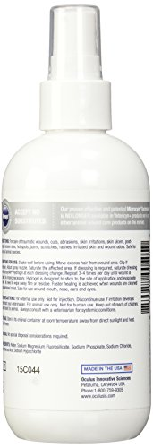 MicrocynAH Wound and Skin Care Sprayable Hydrogel, 8-Ounce by MicrocynAH (Image #3)