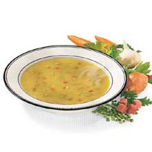 Campbells Condensed Split Pea Soup with Ham and Bacon - 52 oz. can, 12 per case by Campbell's
