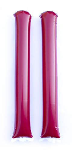 Promote Your Team Spirit Sticks Maroon - 100 Pairs