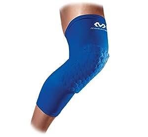 McDavid Hex Leg Sleeves (Pair), Blue Mflo, Medium