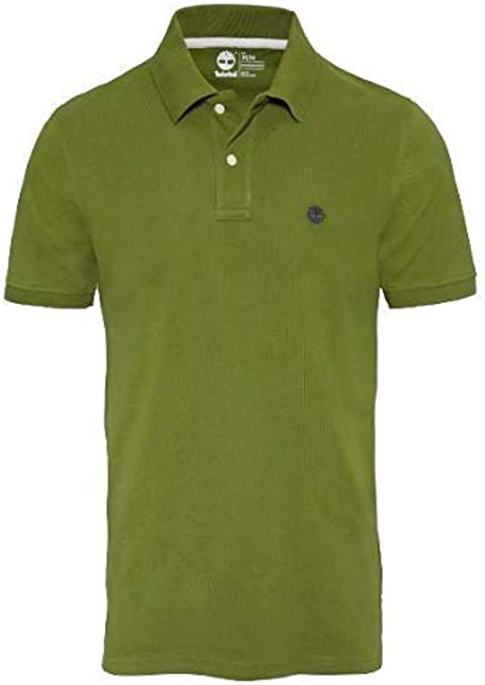 Timberland SS Slim Miller River Polo Hombre Green: Amazon.es: Ropa ...