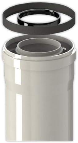 Tubo coaxial FIG diámetro 60/100 mm M/H L1000 | FIG Para Condensacion