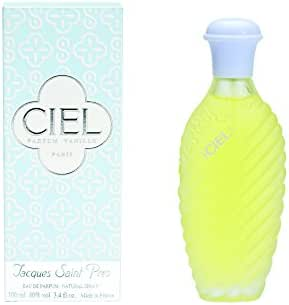 Ciel By Jacques Saint Pres For Women Eau De Parfum Spray, 3.4-Ounces
