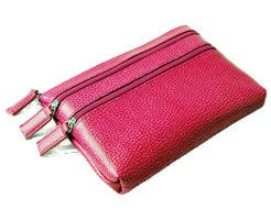 pebble-grained-leather-triple-zip-coin-and-cosmetic-case-pink