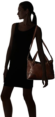 Frye Claude Skoletaske Læder Håndtaske Chokolade hHXG4qRC0e