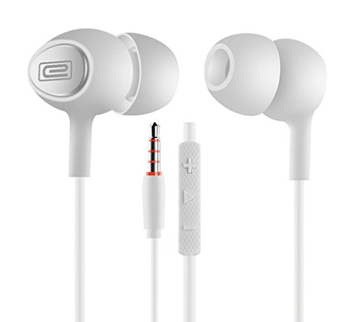 E3 Earbuds In-Ear Metal Earphones Stereo Bass 3.5mm Headphones with - In Malls Outlet Aurora