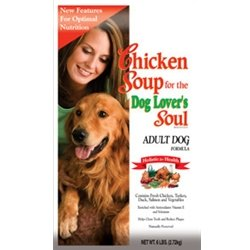 Chicken Soup for the Dog Lover's Soul Dry Dog Food for Adult Dog, Chicken Flavor, 18 Pound Bag, My Pet Supplies