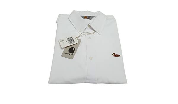 Carhartt - Camisa Formal - para Hombre Bianco L para Hombre ...