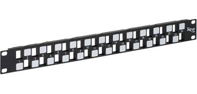 PATCH PANEL BLANK HD 24-PORT 1 RMS