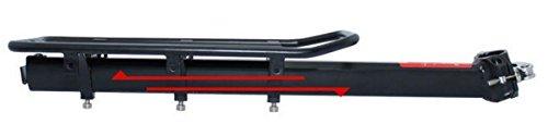 Acomfort 110 Lbs Capacity Adjustable Bike Luggage Cargo Rack Bicycle Accessories by Acomfort (Image #5)