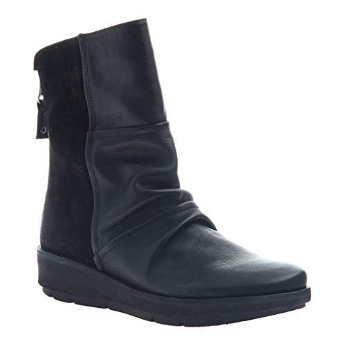 OTBT Women's Pilgrim Mid-Shaft Boots - Black - 6 M US