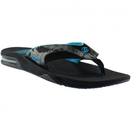 cc57221fee2 Reef fanning prints sandals - palm camo grey  Amazon.co.uk  Shoes   Bags
