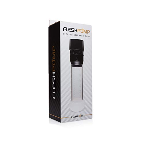 Fleshlight Fleshpump | Gentle Penis Pump for Men | Natural Alternative to Erectile Dysfunction Pills | Comfort Sleeve Attachment and USB Charger by Fleshlight (Image #7)