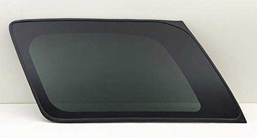 (NAGD Fits 2000-2006 GMC Yukon Chevrolet Tahoe Driver Left Side Rear Quarter Window Glass)