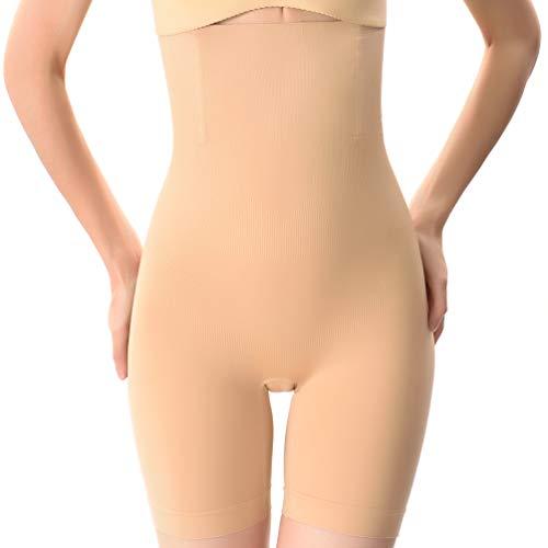 Reachtop Shapermint for Women Tummy Control Women's Shapewear Slimming Shorts High Waist Control Abdomen Compression Shaper Pants Nude