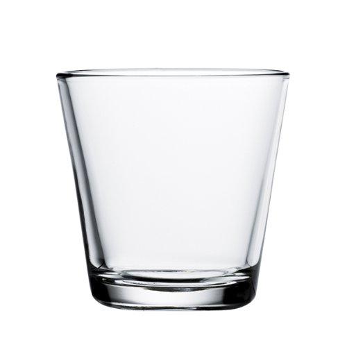 Kartio Tumbler 7 oz. set/2, Clear (Kartio Glassware Set)