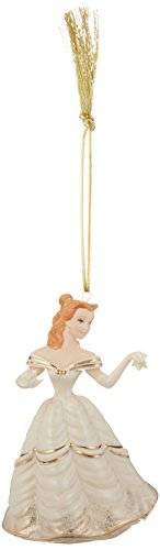 Lenox Christmastime Belle Ornament (Beauty and the Beast)