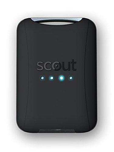 Scout - Universal Vehicle GPS Tracker - Anti-theft W/Real Time GPS Location And Movement Alerts W/FREE Hardwire Kit
