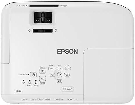 Epson EB-W42 Video - Proyector (3600 lúmenes ANSI, 3LCD, WXGA ...