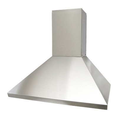 """Brillia 36"""" 750 CFM Ducted Wall Mounted Range Hood Cover Height: 73.2"""""""