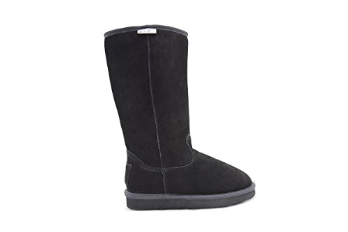 Fur Boot Calf Resistant Water Wool Lined Winter High Weather Auckland Mid Cold Aussie Black Merino 5Pwqz0xqZ