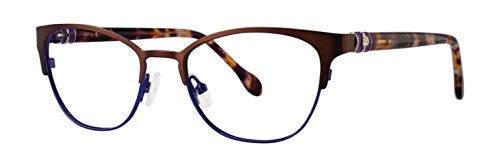 (Lilly Pulitzer HAYDEN Chocolate Eyeglasses)