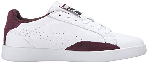 M Tennis Basic Lo Donna Us Puma White Wn's 8 Scarpe Winetasting Da Sports pwq5IWPx